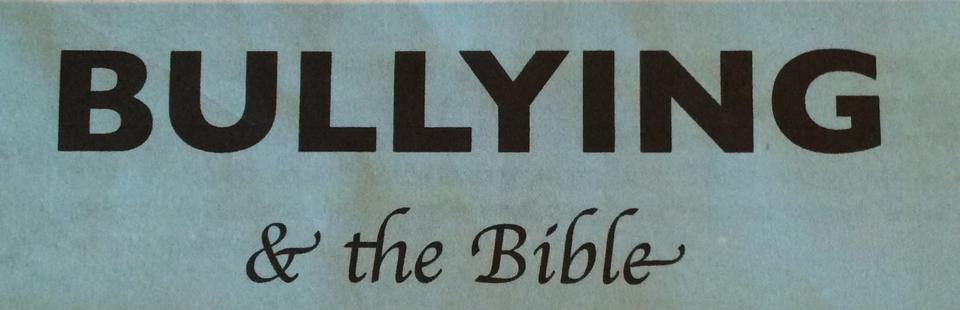 bullies of the bible