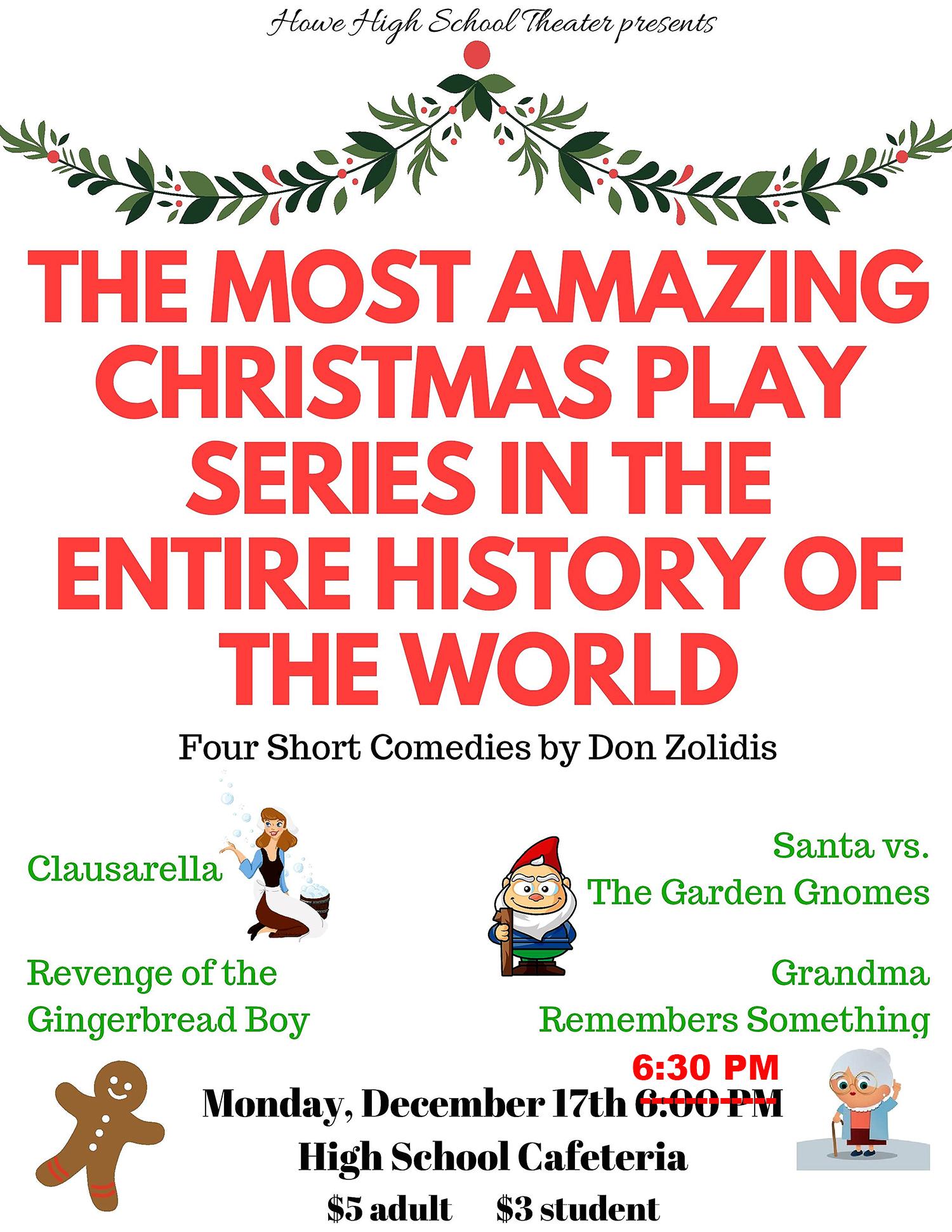 Short Christmas Play.Christmas Play Flyer Page 3